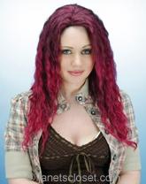 Human Hair Blend Wigs