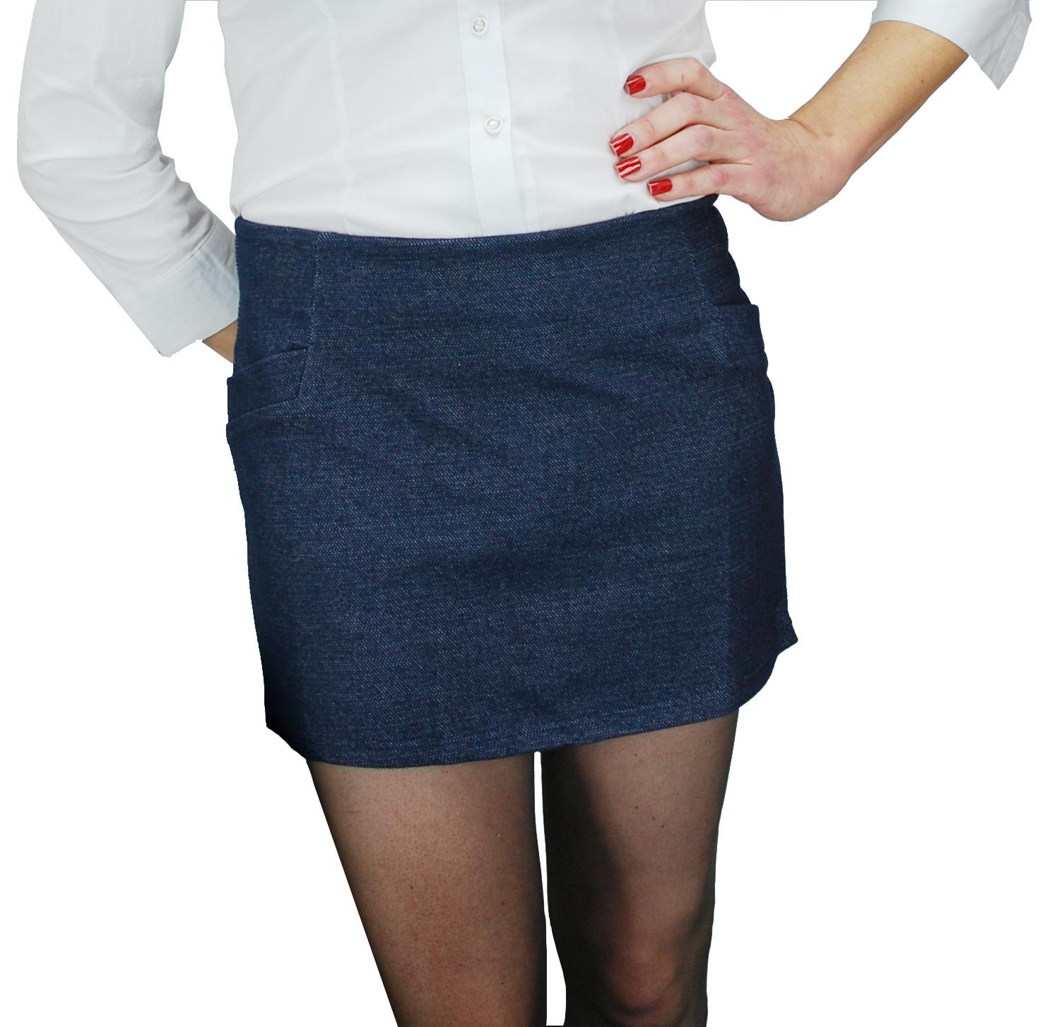 e555bd80c7b Denim Mini Skirt for Crossdressers Transgenders Women