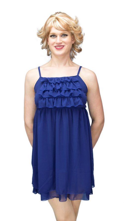 Megan Dress Blue