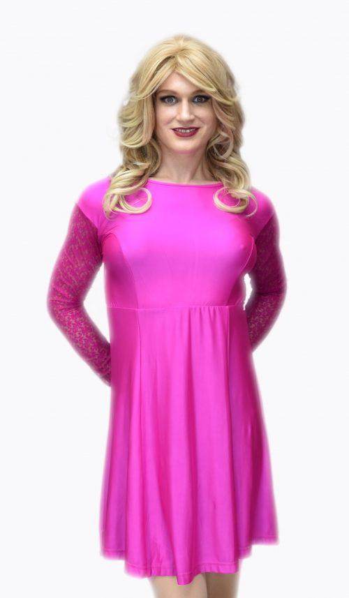 Jenny Dress Fuschia
