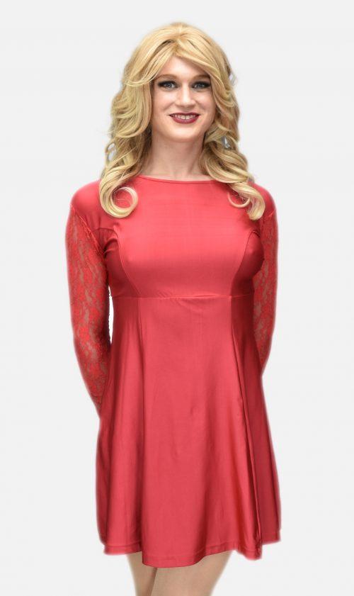 Jenny Dress Red