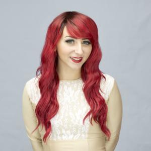 Urban Red Crimson Crossdresser Wig - Janet's Closet