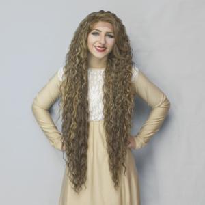 long length crossdresser wig