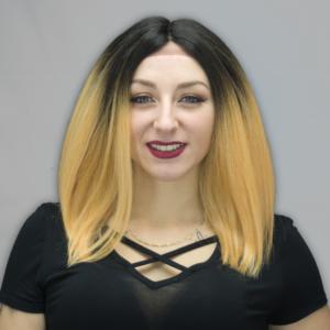 Rowan Wig - Dark Brown/Strawberry Blonde