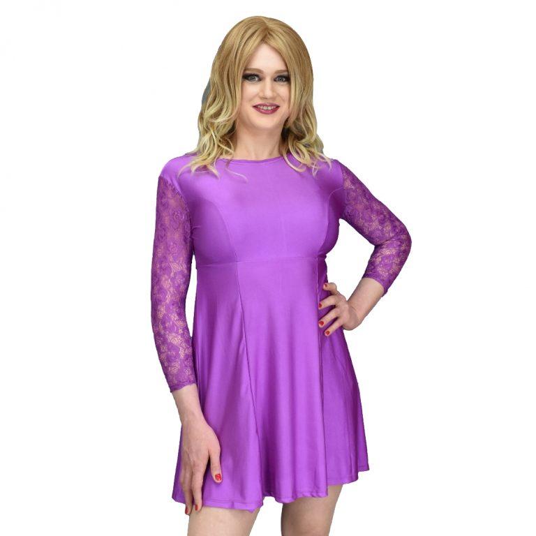 Jenny Dress Purple