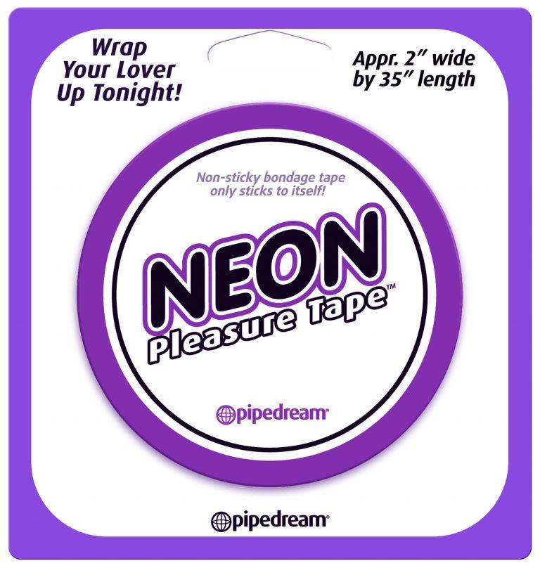 Neon Pleasure Tape - Purple