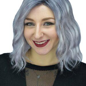 Evanna Wig by Rene of Paris - Pastel Blue