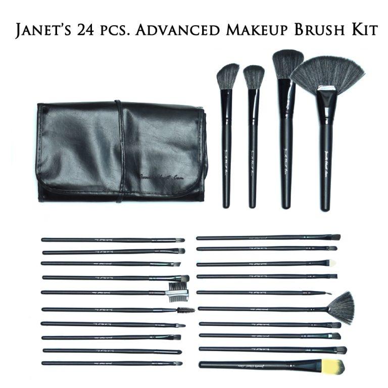 Janet's 24-piece Advanced Makeup Brush Kit