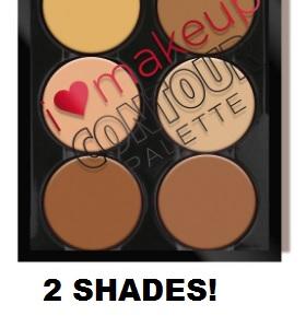 Heart Makeup Contour Palette
