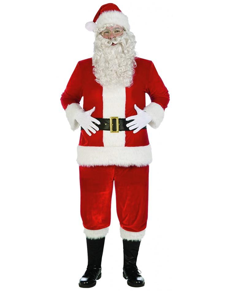 Deluxe Velvet Santa Costume
