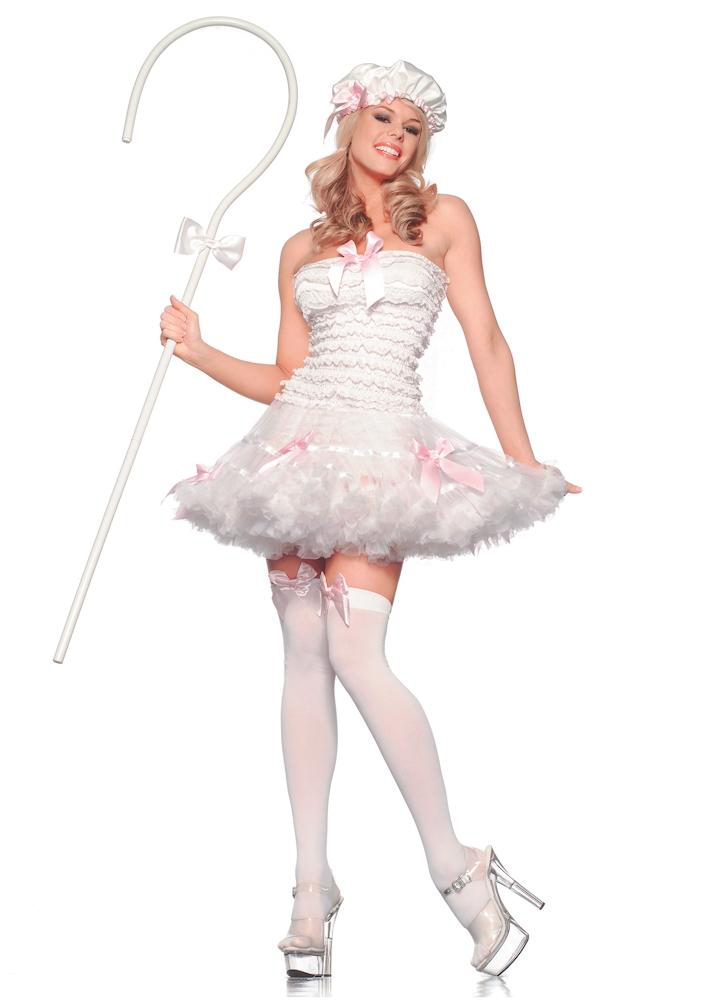 Baby Pink Bow Peep Costume