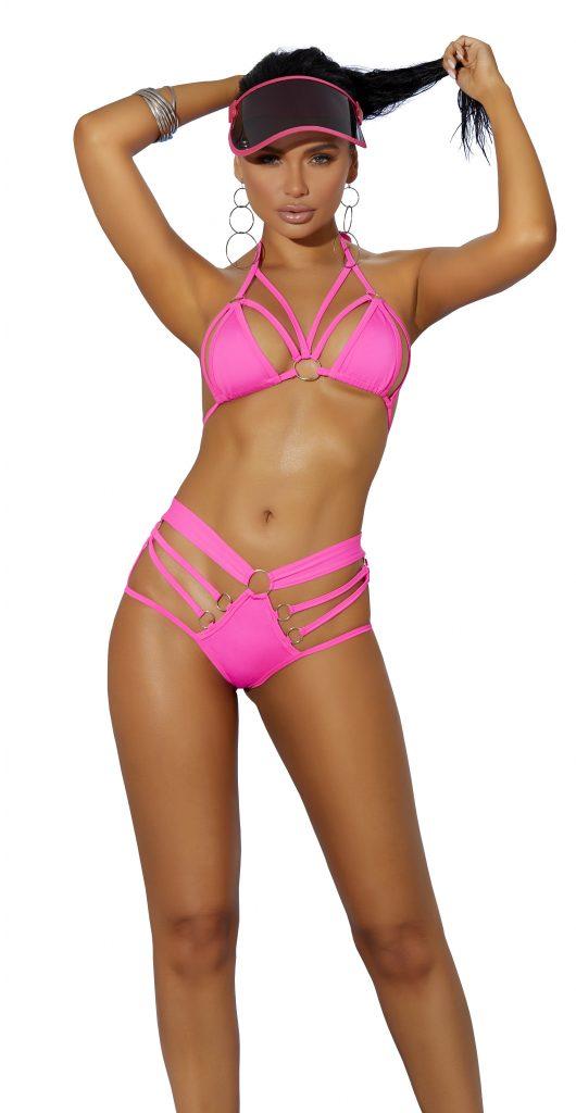 Vivace Strappy Bikini – Pink