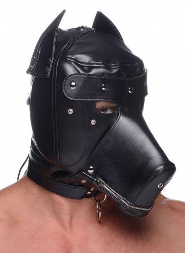 Master Series Muzzled Universal Bondage Hood
