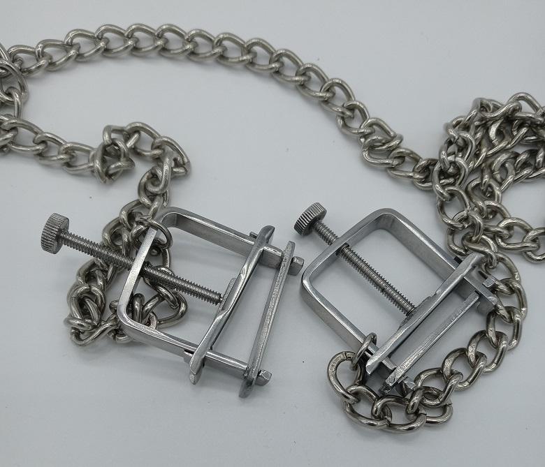 Box Style Nipple Crushers with Chain