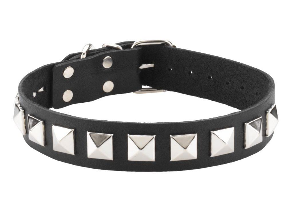 Spartacus 1″ Wide Studded Collar