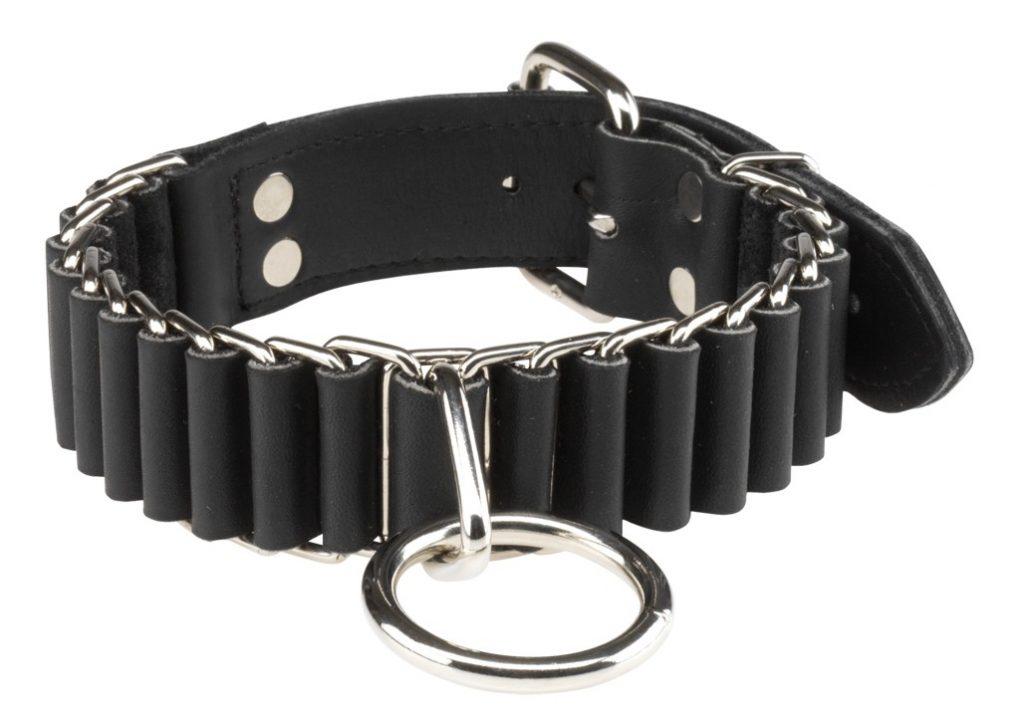 Spartacus 1.25″ Woven Bondage Collar