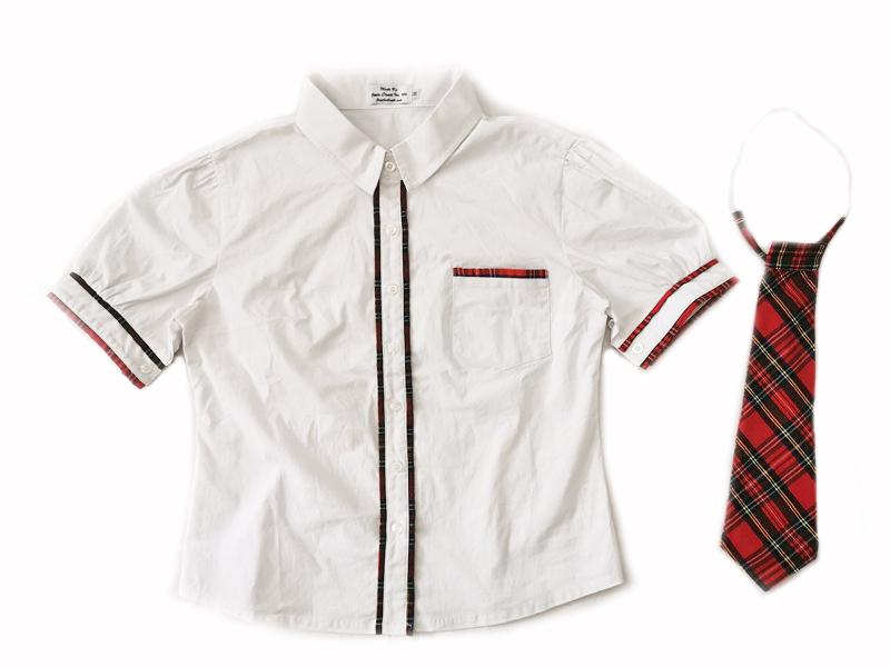 Schoolgirl Shirt & Tie