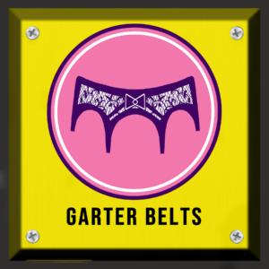 GARTER BELTS BUTTON