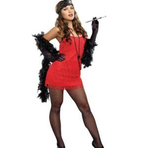 Flapper Fringe Dress Dreamgirl
